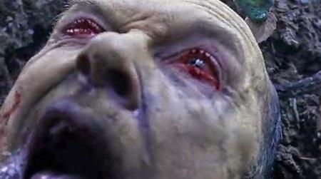 severed eyes
