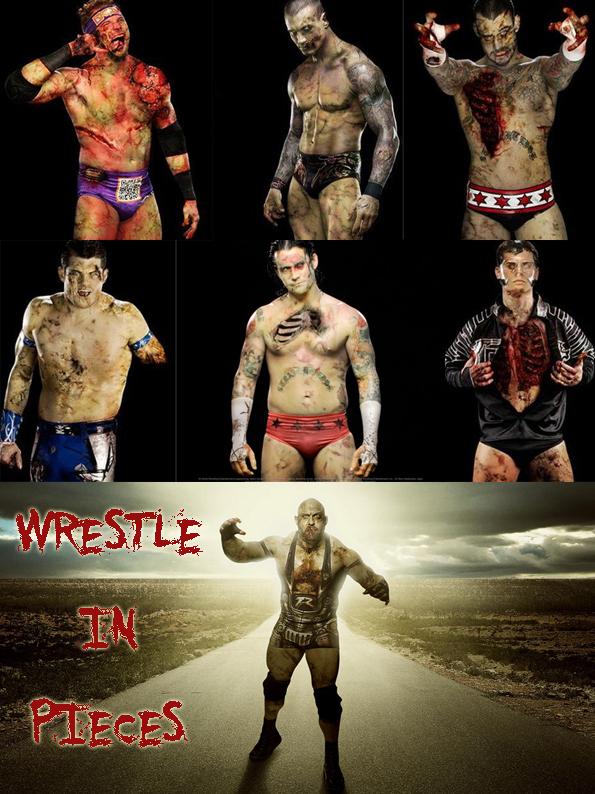 WWE zombie wrestlers