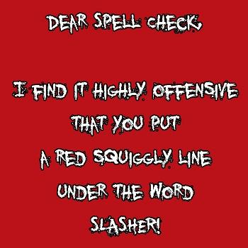 spell check slasher