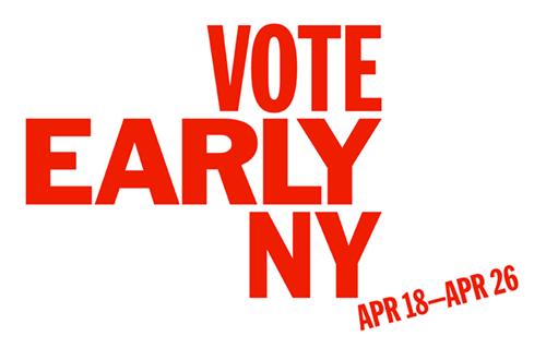 VOTE EARLY NY