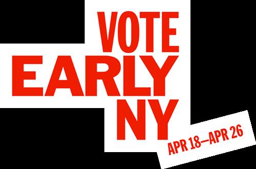 VOTE EARLY NY