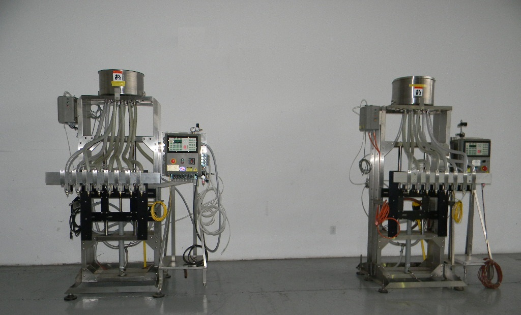 Elf Filler 8 Head Pressure Gravity Filler