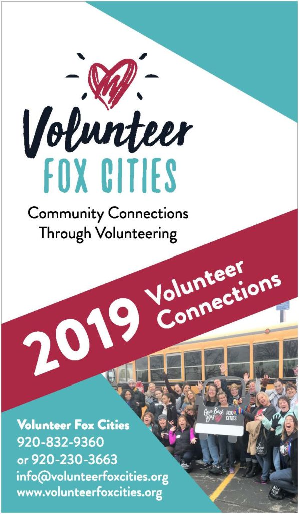 2019 Volunteer Connections Book, volunteer opportunities