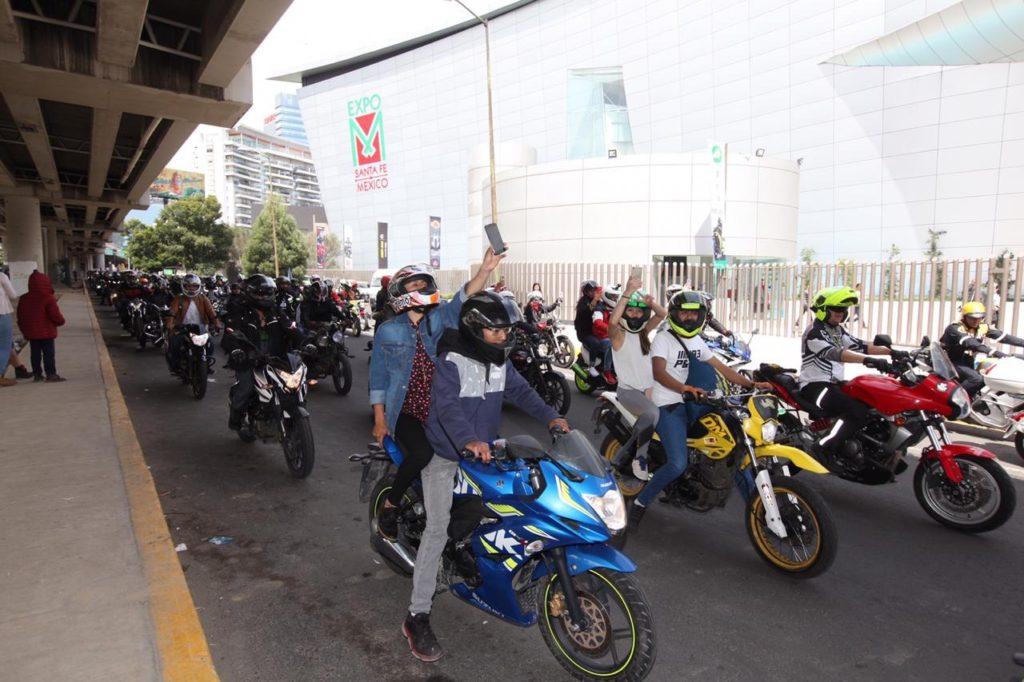 1120 motos en la rodada