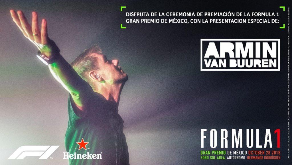 Arman Van Buuren- Formula 1 -Revista Quiubo