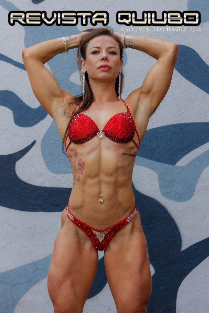 En la portada de la Revista Digital Iliana Camarena