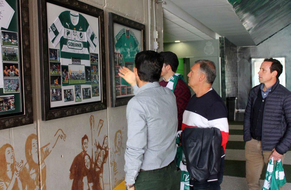 Fútbol Gerardo Martino en Santos