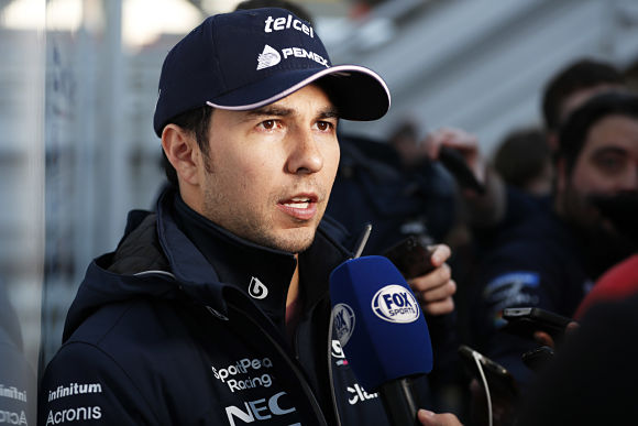 Formula 1 Checo Perez