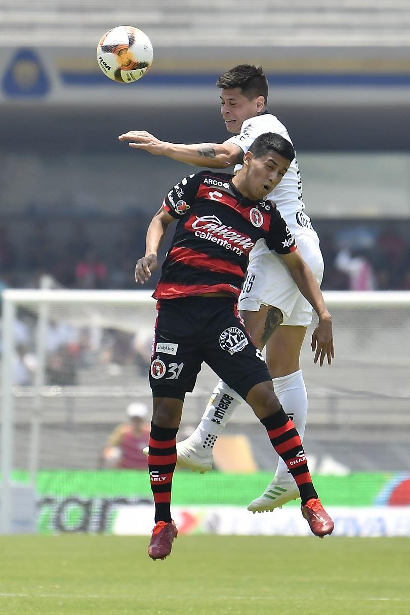 Liga MX Pumas derrota 1-0 a Tijuana