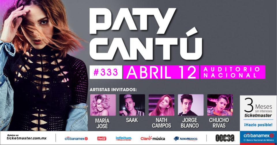 Paty Cantu y su música