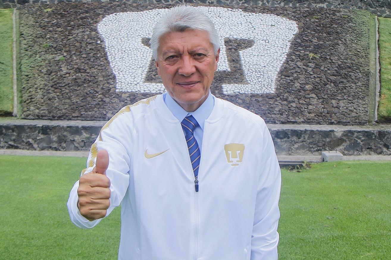 Jesús Ramírez presidente deportivo del Club Universidad
