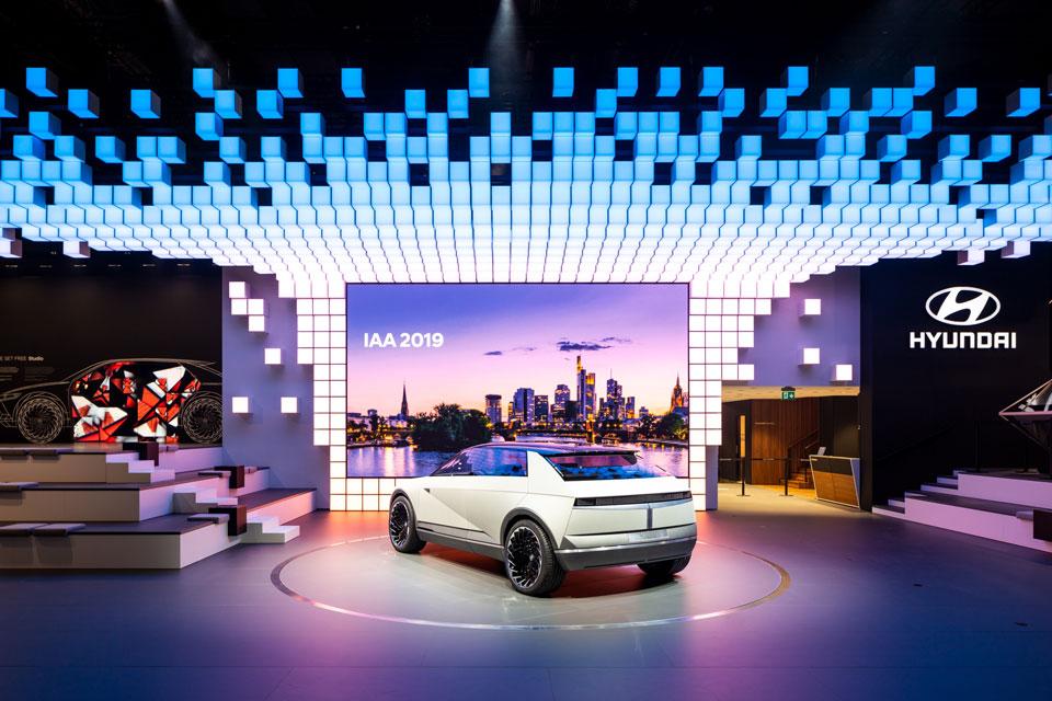 Hyundai Motor presenta el concepto 45 EV