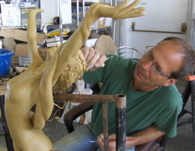 Website for a Sculptor