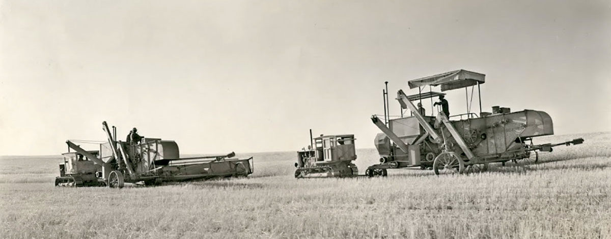 Barnes Dryland Wheat Operation 1935