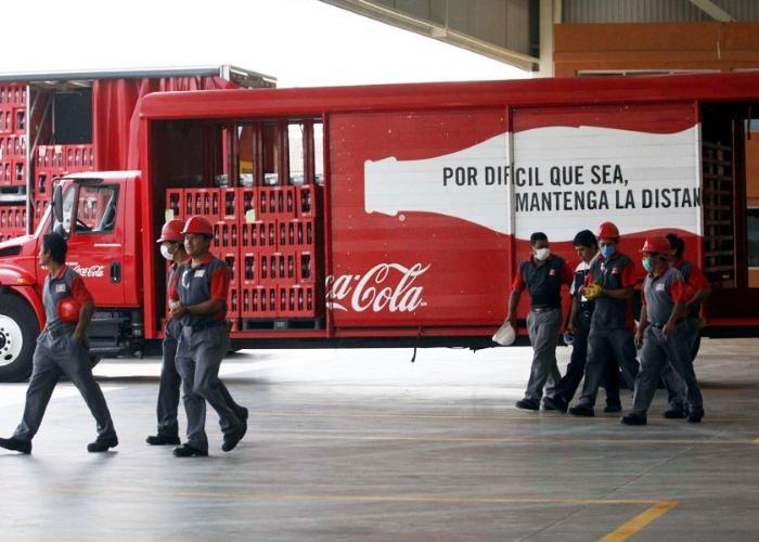 empleados de coca cola