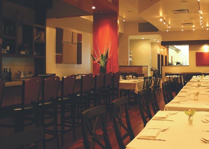 vista del restaurante Mexique en Chicago