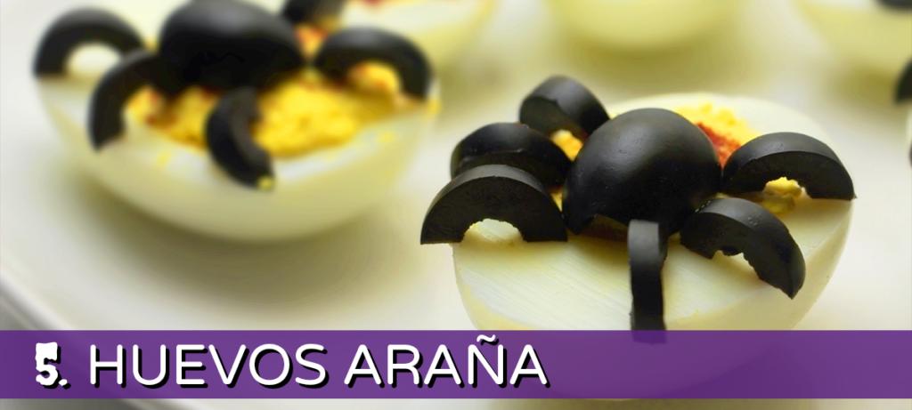 huevos araña