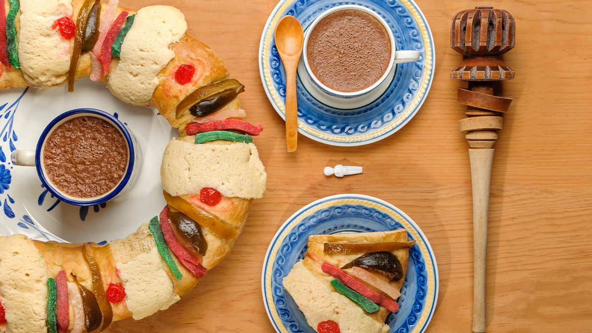 Día de Reyes Magos: deliciosa rosca