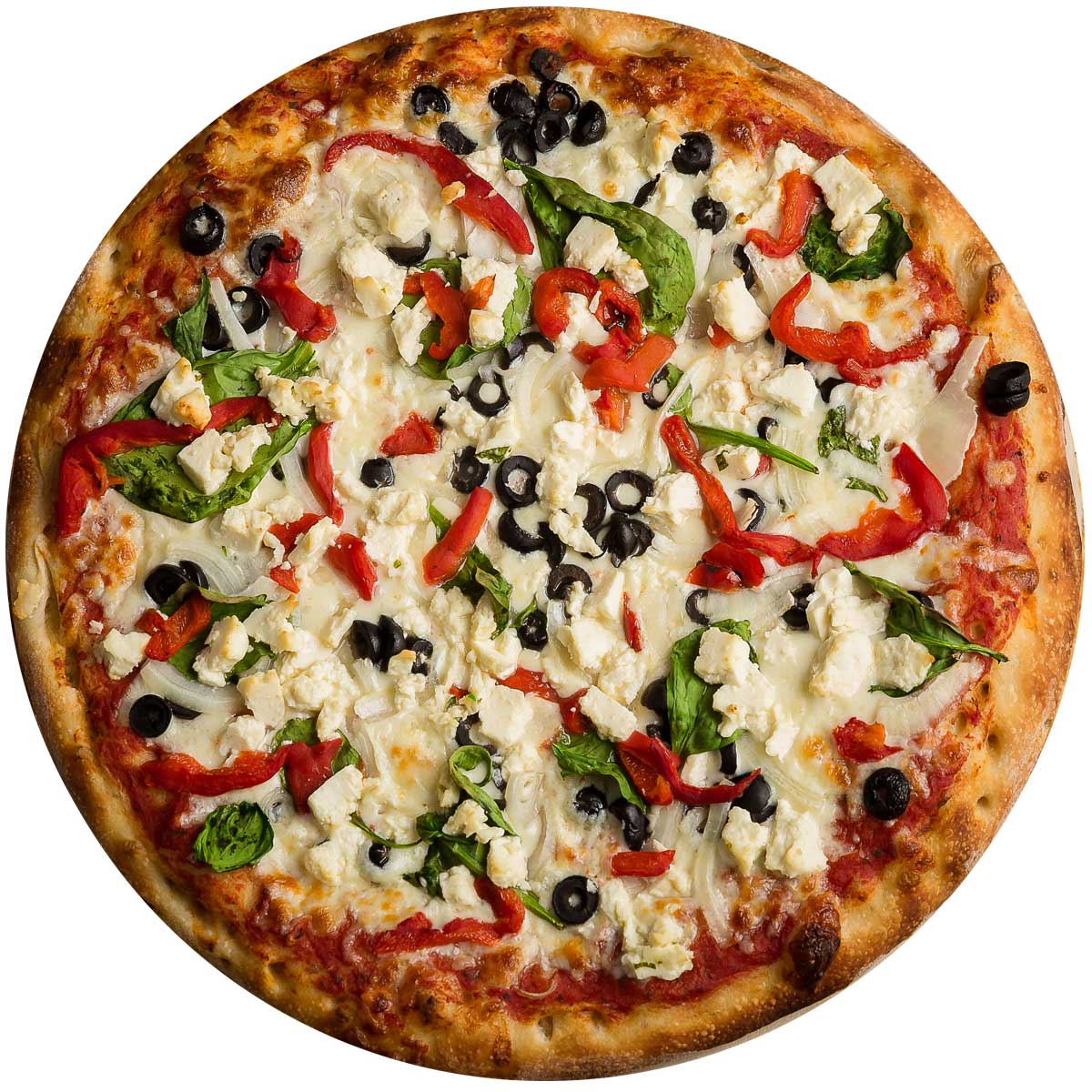 Greek Vegetarian Pizza