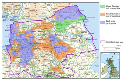 Shale Gas - the UK's Bowland Shale Formation