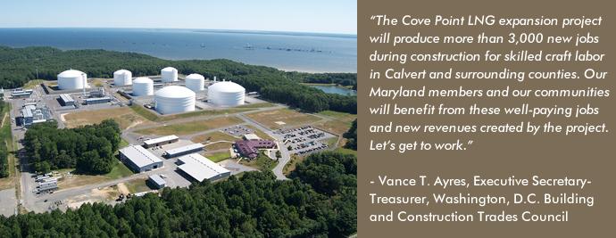 shale gas - cove point lng
