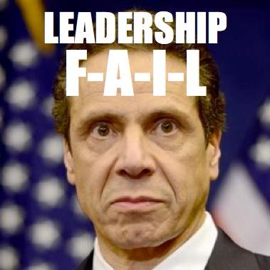 Cuomo - Leadership Fail