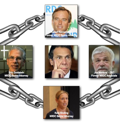 Cuomo in NRDC chains