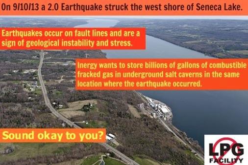 Gas Free Seneca Earthquake Hyperbole