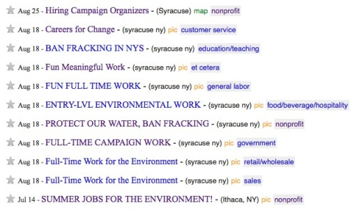 anti-fracking campaigns
