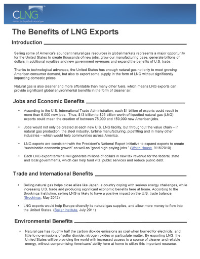 natural gas fact sheets - Benefits_of_LNG_Exports