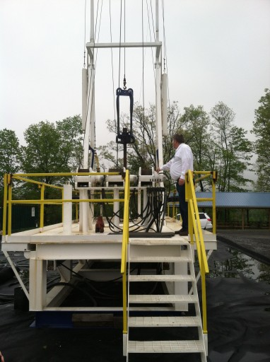 Penn College training rig