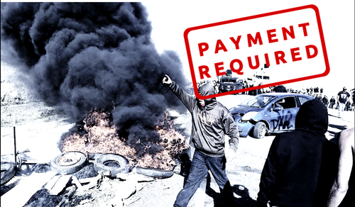 Fight fractivist fire with an invoice!