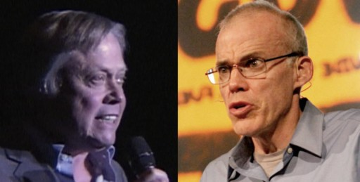 Bob Howarth and Bill McKibben