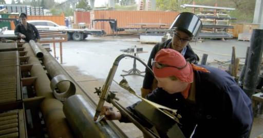 pipeline welder