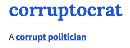 corruptocrat