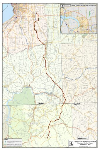 northern access pipeline