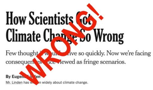 Global warming theology