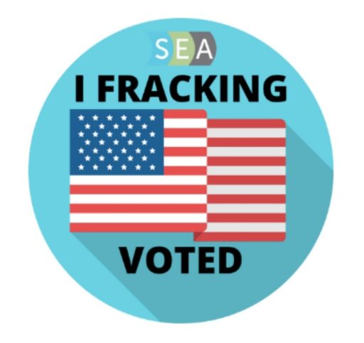 """I Fracking Voted"""