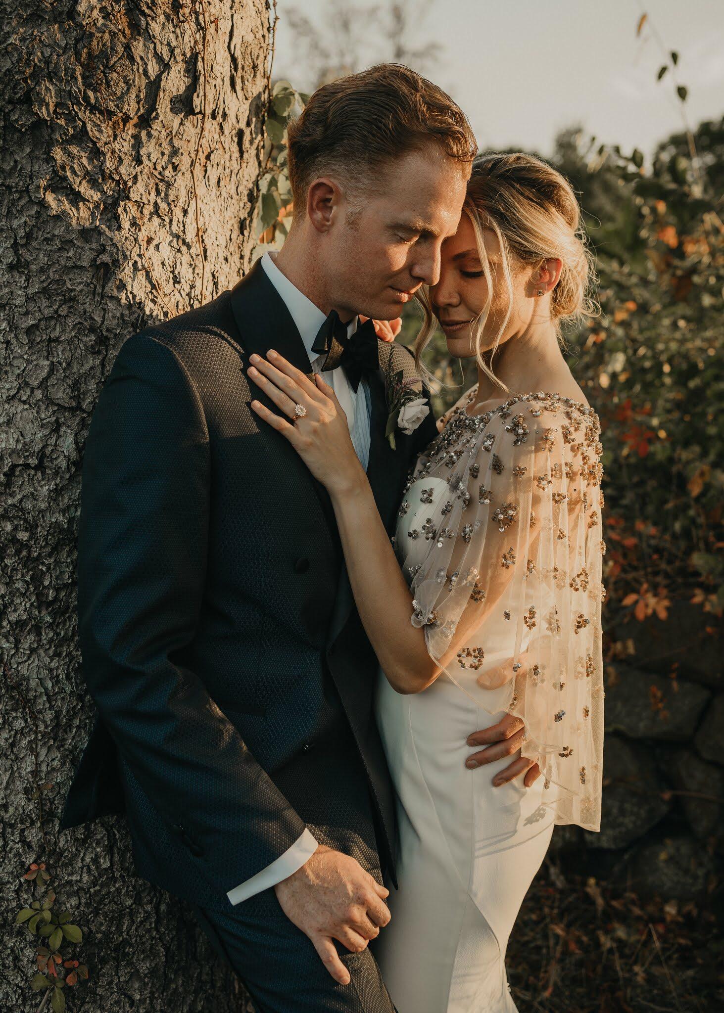 Linley + Eric's tented wedding in Farmington, CT.