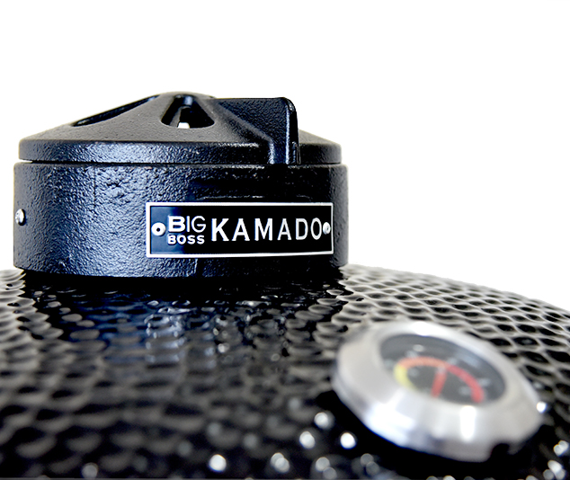 Barbecue In All | black Big Boss Kamado BBQ grill logo