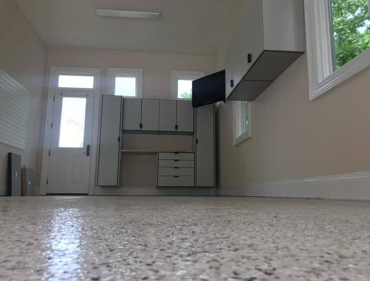 garage floor epoxy professional