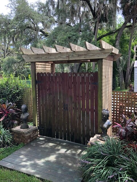 A new entrance makeover at the Secret Garden