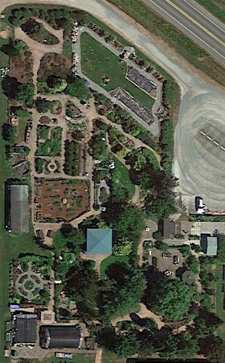 Overhead Photo of Discovery Garden