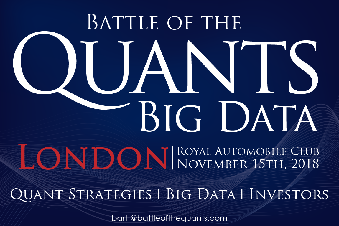 Battle of the Quants Big Data London 2018