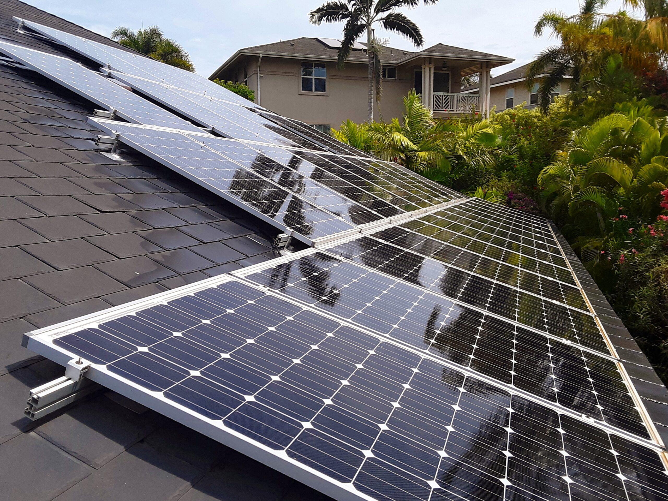 Kauai Solar Panel Cleaning Service