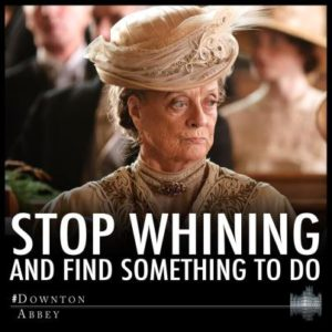 The Dowager's Advice for those waiting for S3 to begin in the US