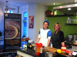 Cooking at with Donna Maria at Relish Cooking Studios
