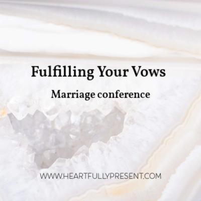 fulfilling your vows marriage conference