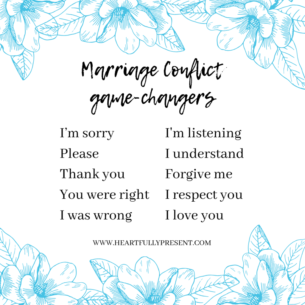 marriage arguments | conflict management | say this not that