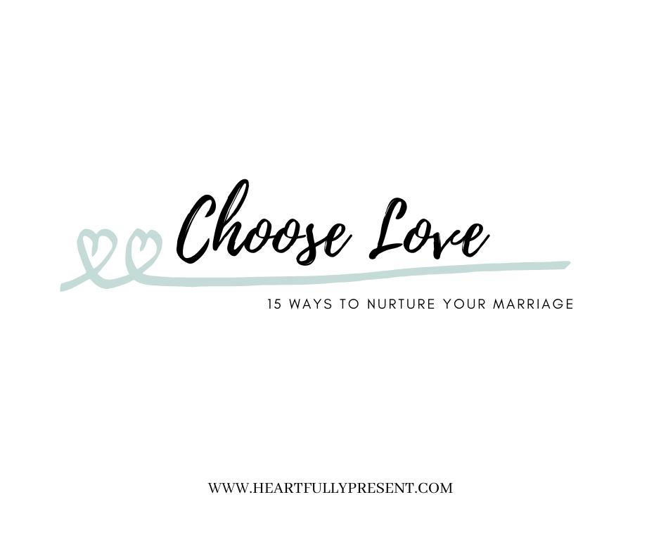choose love | happy anniversary | marriage